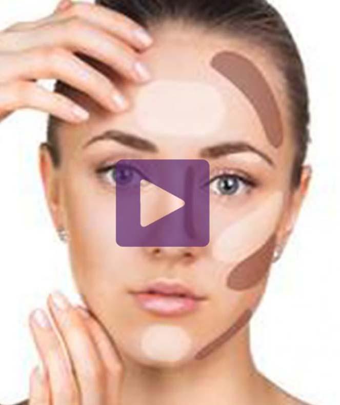 مشخص کردن مدل صورت برای کانتورینگ صورت