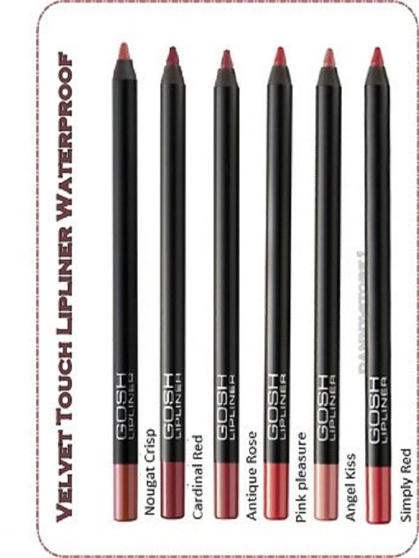 Gosh Velvet Touch Waterproof Lipliner (2)