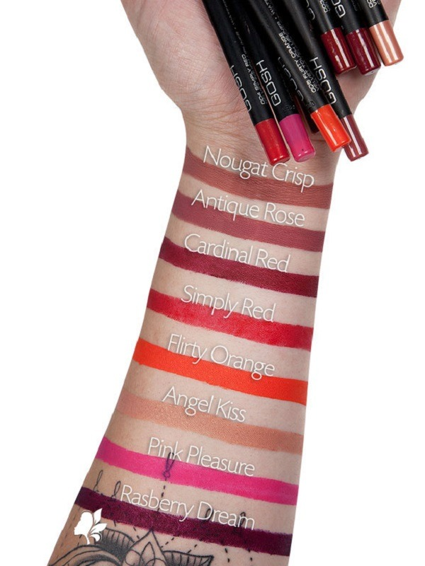 Gosh Velvet Touch Waterproof Lipliner