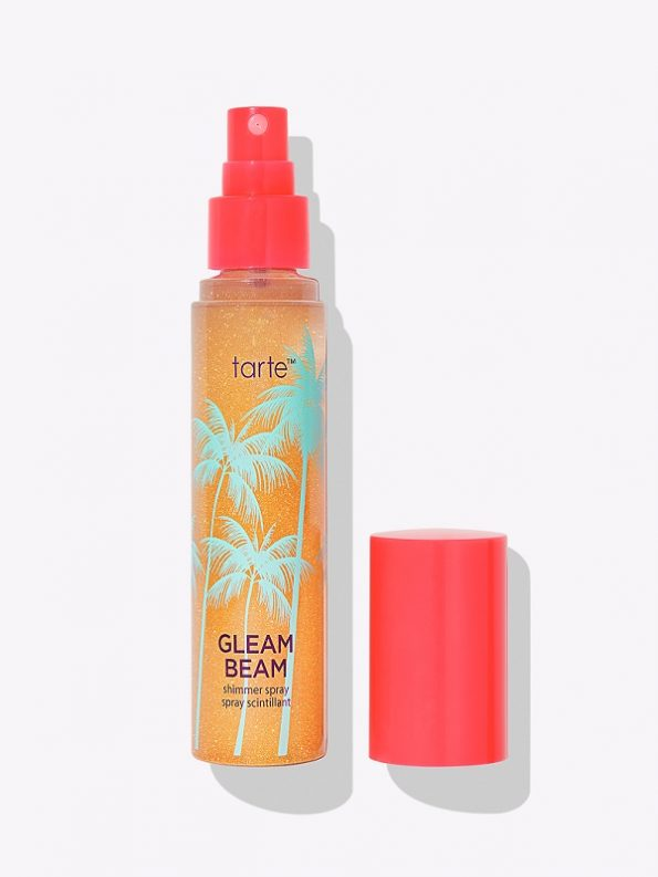 gleam beam shimmer spray tarte